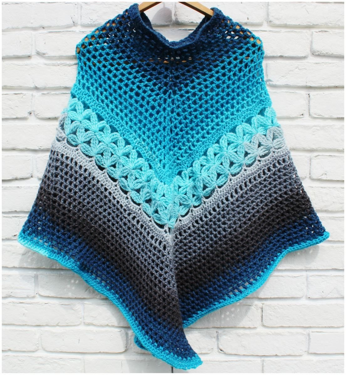 Poncho Mandala – Free Crochet Pattern | Opportunity, Therapy and Crochet