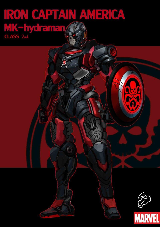 MARVEL COMICS Characters PHOTO Print POSTER Captain America Deadpool Iron Man 05