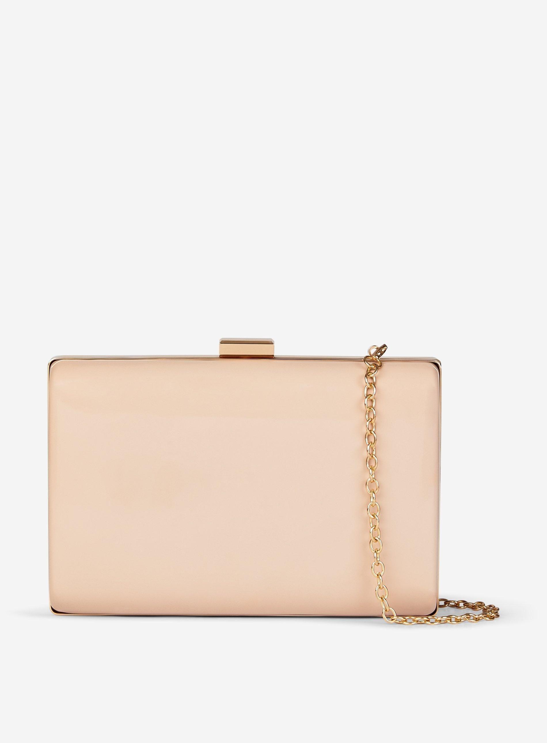 ac6fb58cb6 Dorothy Perkins - White Nude Box Clutch Bag in 2019 | inspirasi ...