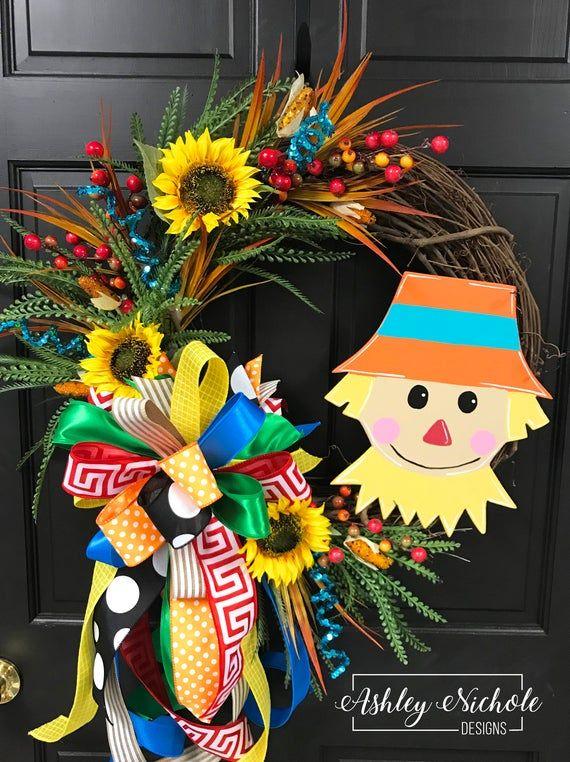 Scarecrow Wreath - 18 Wreath