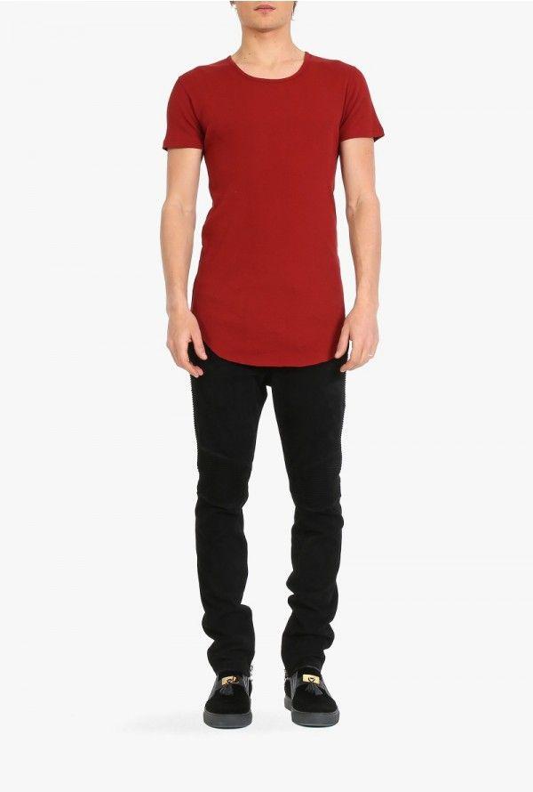 Balmain - Cotton-jersey short-sleeved T-shirt - Men's T-shirts - Fall-Winter 2015