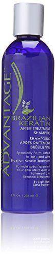 Salon Advantage Brazilian Keratin After Treatment Shampoo 8 Ounce * Read more  at the image link.