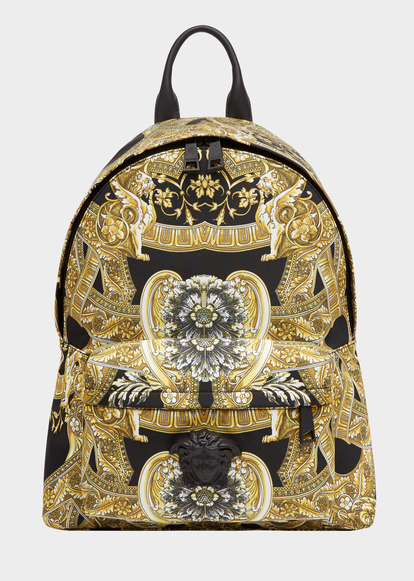 9c1bf1316f Barocco Istante Nylon Backpack - Versace Bags   Backpacks