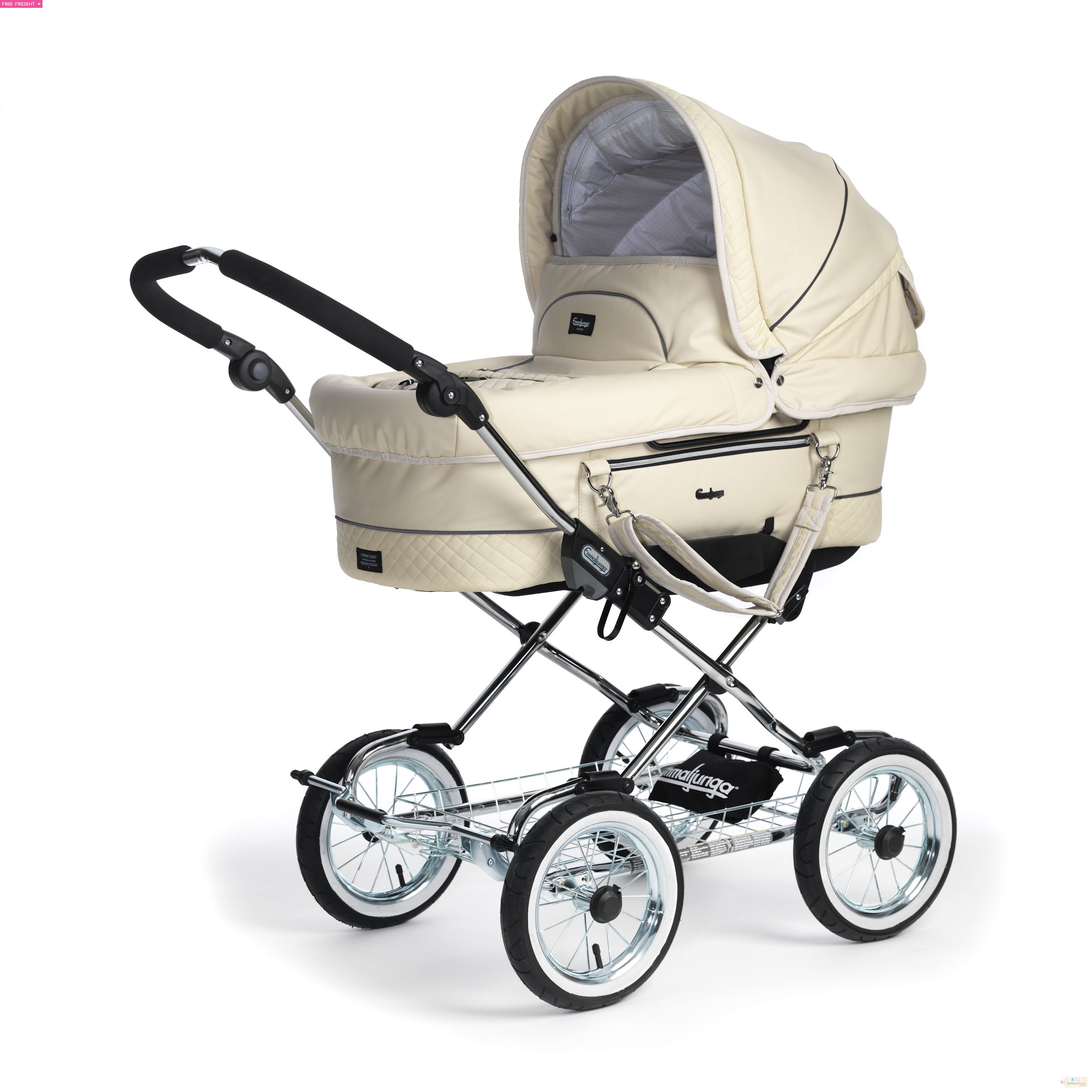 The Emmajlunga Mondial Duo Combi Pram is sheer elegancy