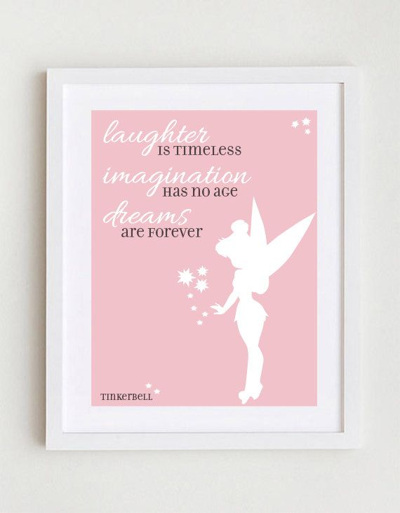 Disney quote tinkerbell by greensplashdesigns on etsy 1000 baby disney quote tinkerbell by greensplashdesigns on etsy 1000 voltagebd Choice Image