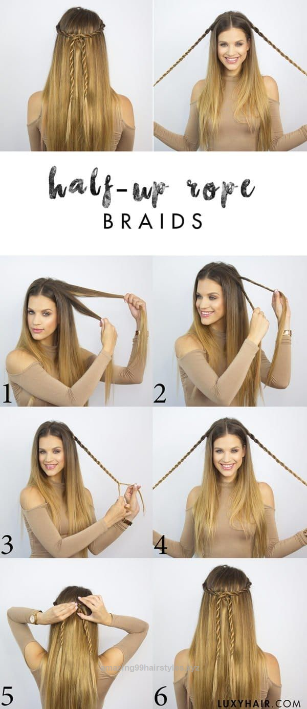 Last minuteu hairstyles for modern look every day hair pinterest