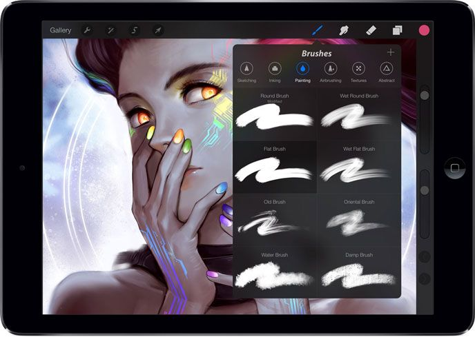 The 8 Best Apps For Artists Draw Sketch Paint On Your Ipad Art Apps App Drawings Good Drawing Apps