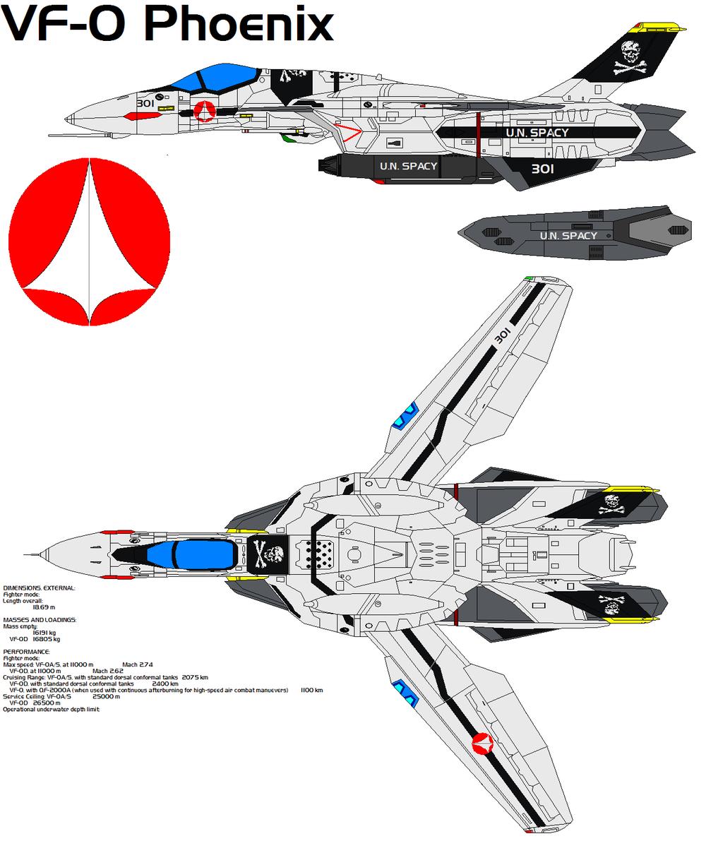 VF0S Phoenix Robotech macross, Mecha anime, Sci fi anime
