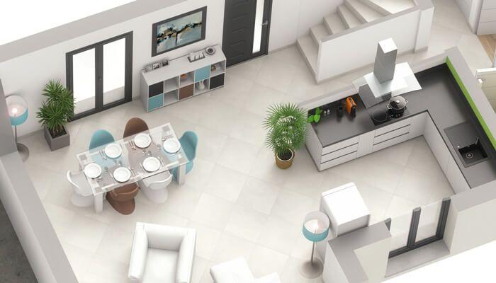 Plan Maison 3d Maison Contemporaine Opaline Maison Toit