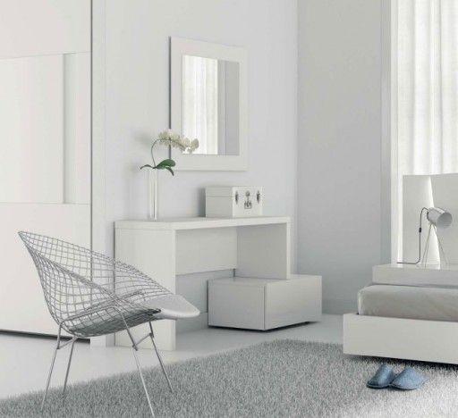 dormitorios blancos consejos para decorar en blanco tocador slaap de