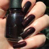 Aut umm I Need That For Royal Burgundy Manicure #burgundynails #squarenails #lon