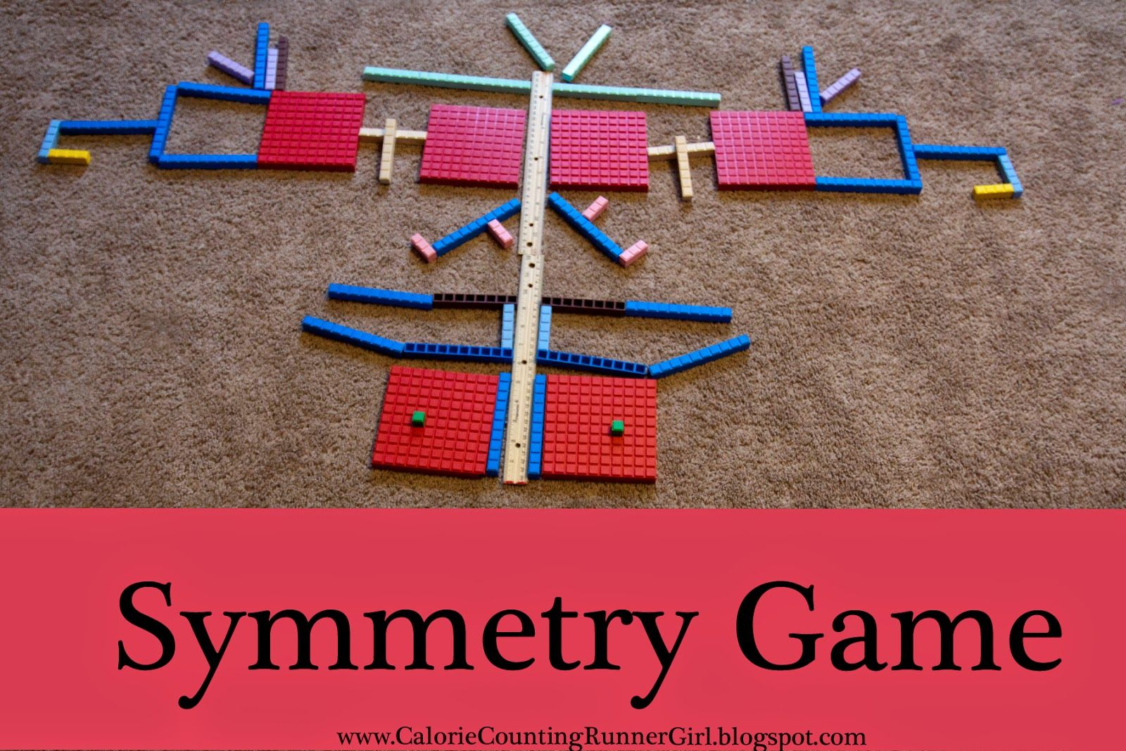 Symmetry Learning Game With Images
