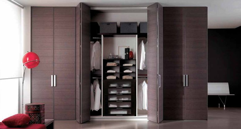 Artesanato De Croche Tapetes ~ Puerta Baño Homecenter Armario de puertas plegables Closets Pinterest Puertas plegables