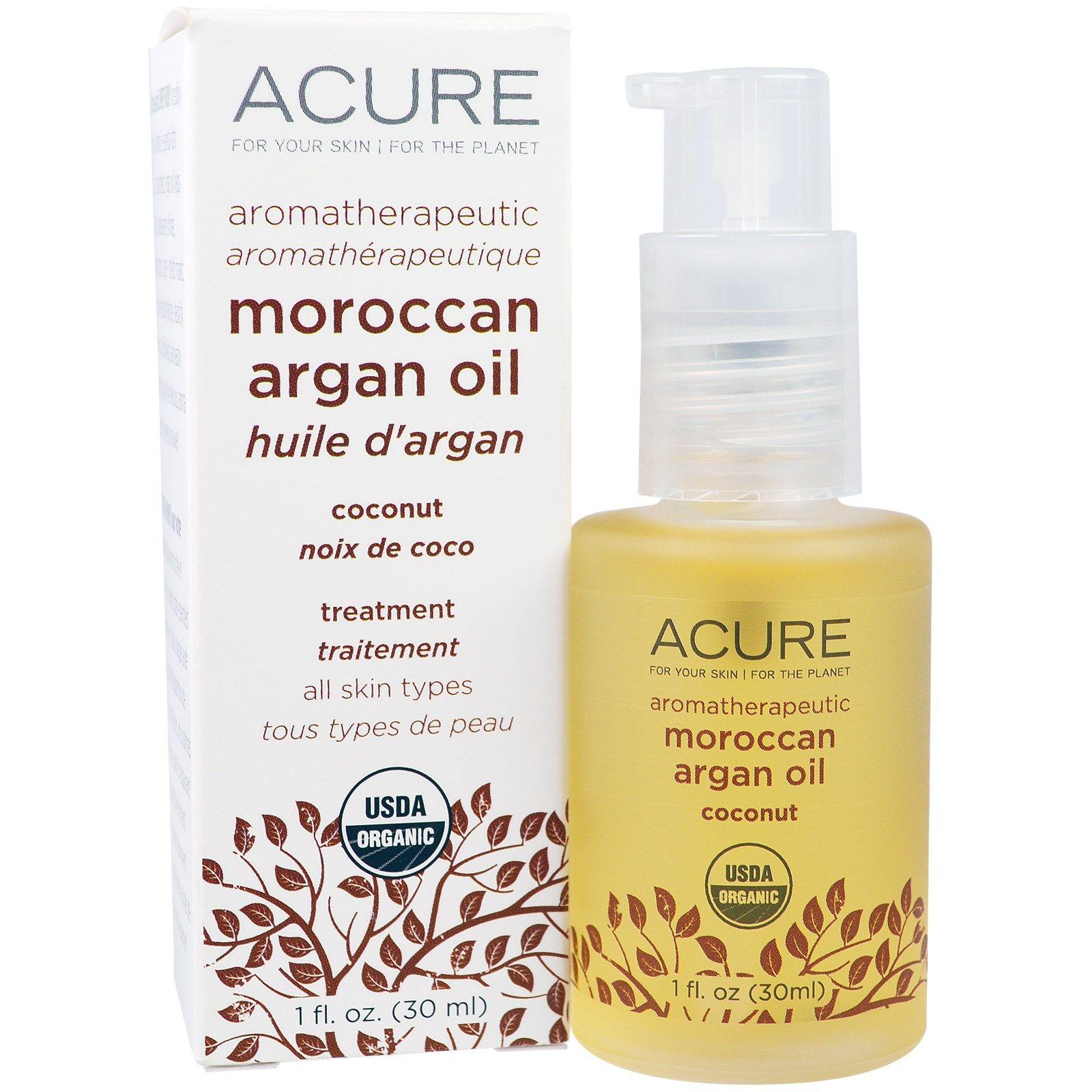 Acure Organics, Aromatherapeutic Moroccan Argan Oil, Coconut