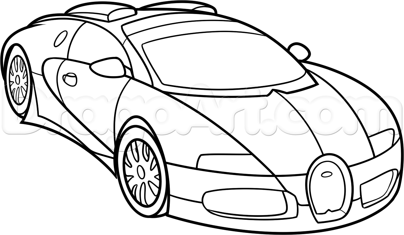 how to draw a bugatti veyron step 10 | Drawing tutorials | Pinterest ...