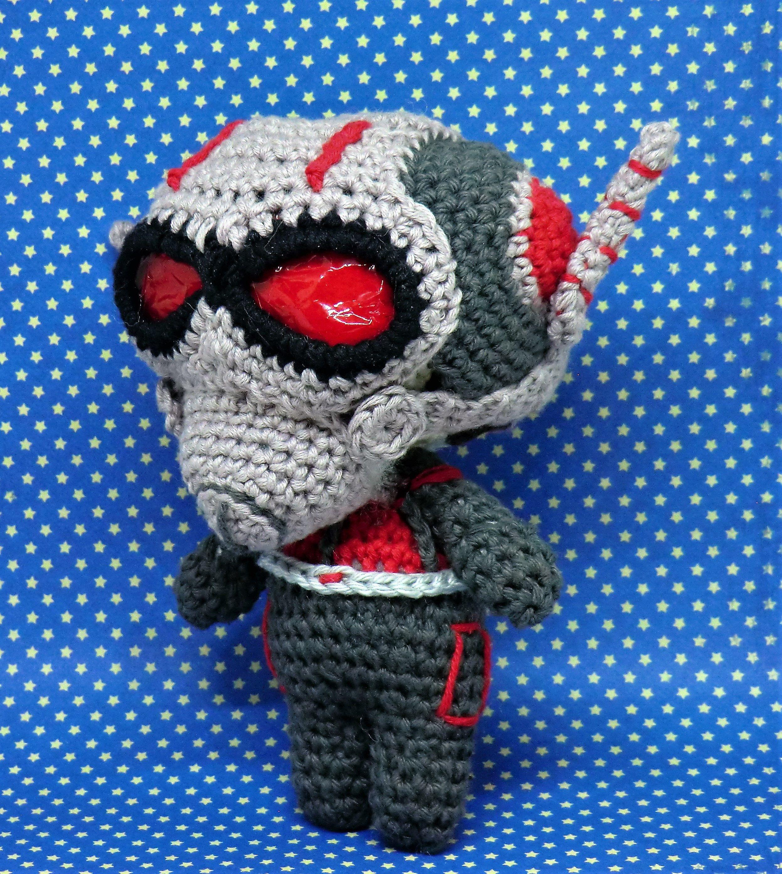 Ant Man Scott Lang Amugurumi Style Pdf Crochet Pattern Inspired By