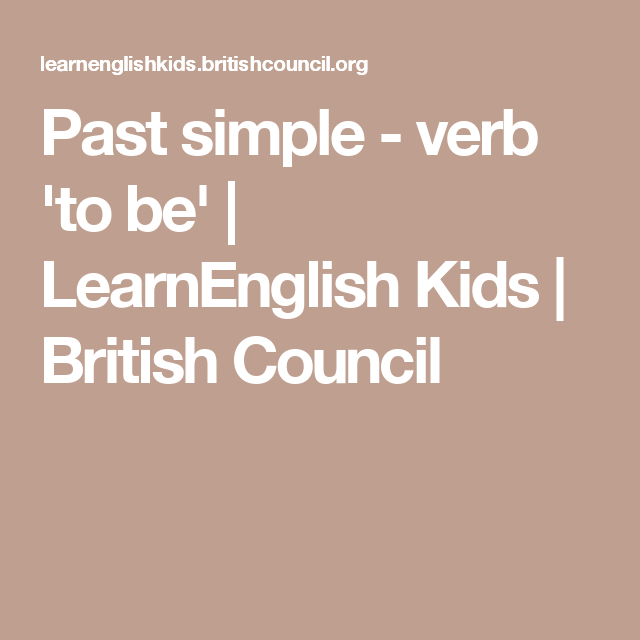 past simple verb 39 to be 39 be past simple traditional stories british council grammar. Black Bedroom Furniture Sets. Home Design Ideas