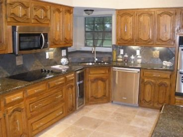 Best Image Result For Baltic Brown Granite With Oak Cabinets 640 x 480