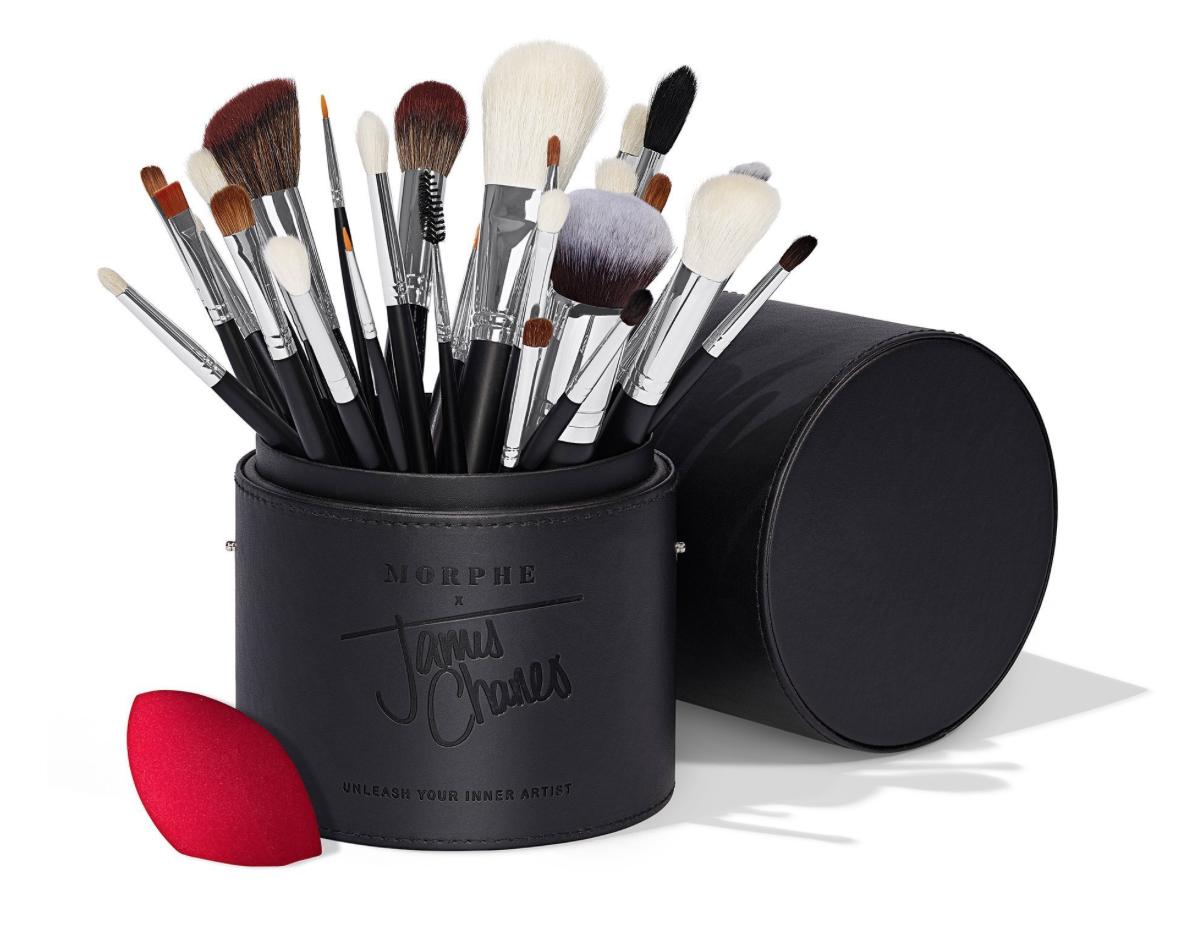 Morphe The James Charles Brush Set Makeup brush set