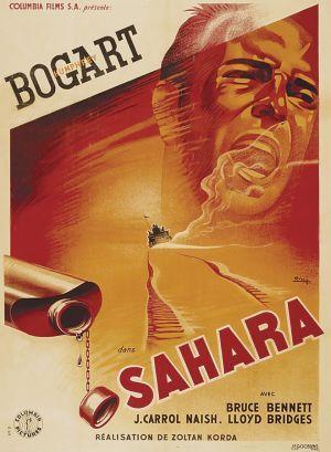 Sahara movie poster (France)