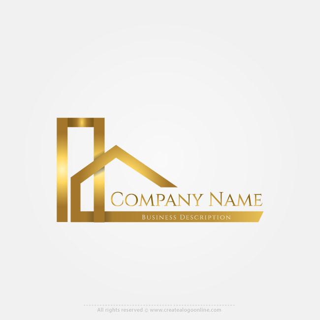 Construction Vector Logo Maker Real Estate Logo Design Real Estate Logo Design Real Estate Logo Construction Logo Design,Simple Horse Embroidery Design