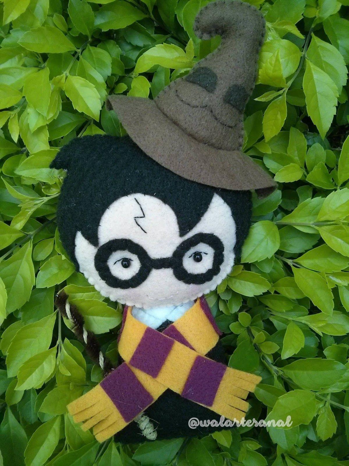 Lançamento] Molde Artesanal Digital Harry Potter Personagens: Harry ...
