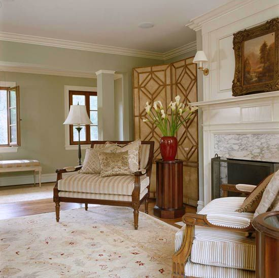 So Elegant Love A Sitting Area In A Master Bedroom By: Comfortable Elegance: Meredith Vieira's Home