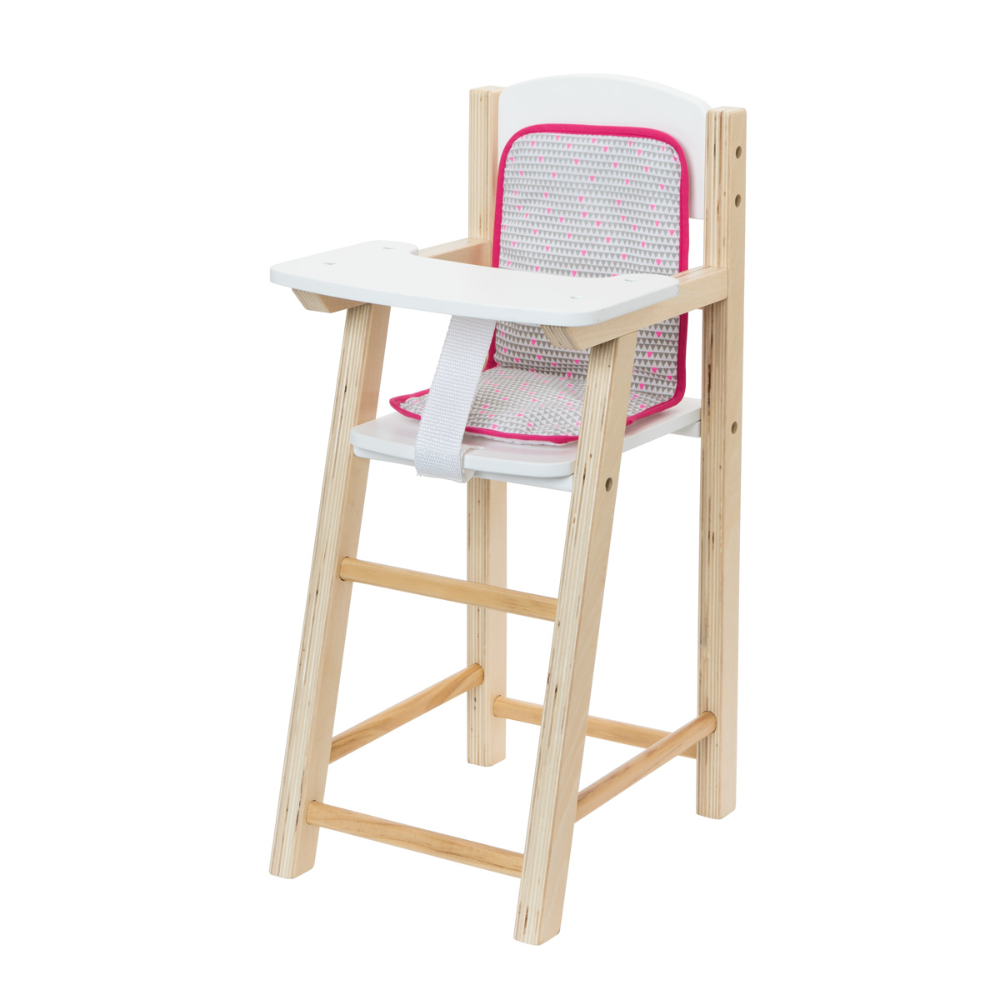 Chaise Haute Pour Poupee Imagibul Creation Oxybul Chaise Haute Poupee Chaise Haute Chaise Haute Bois