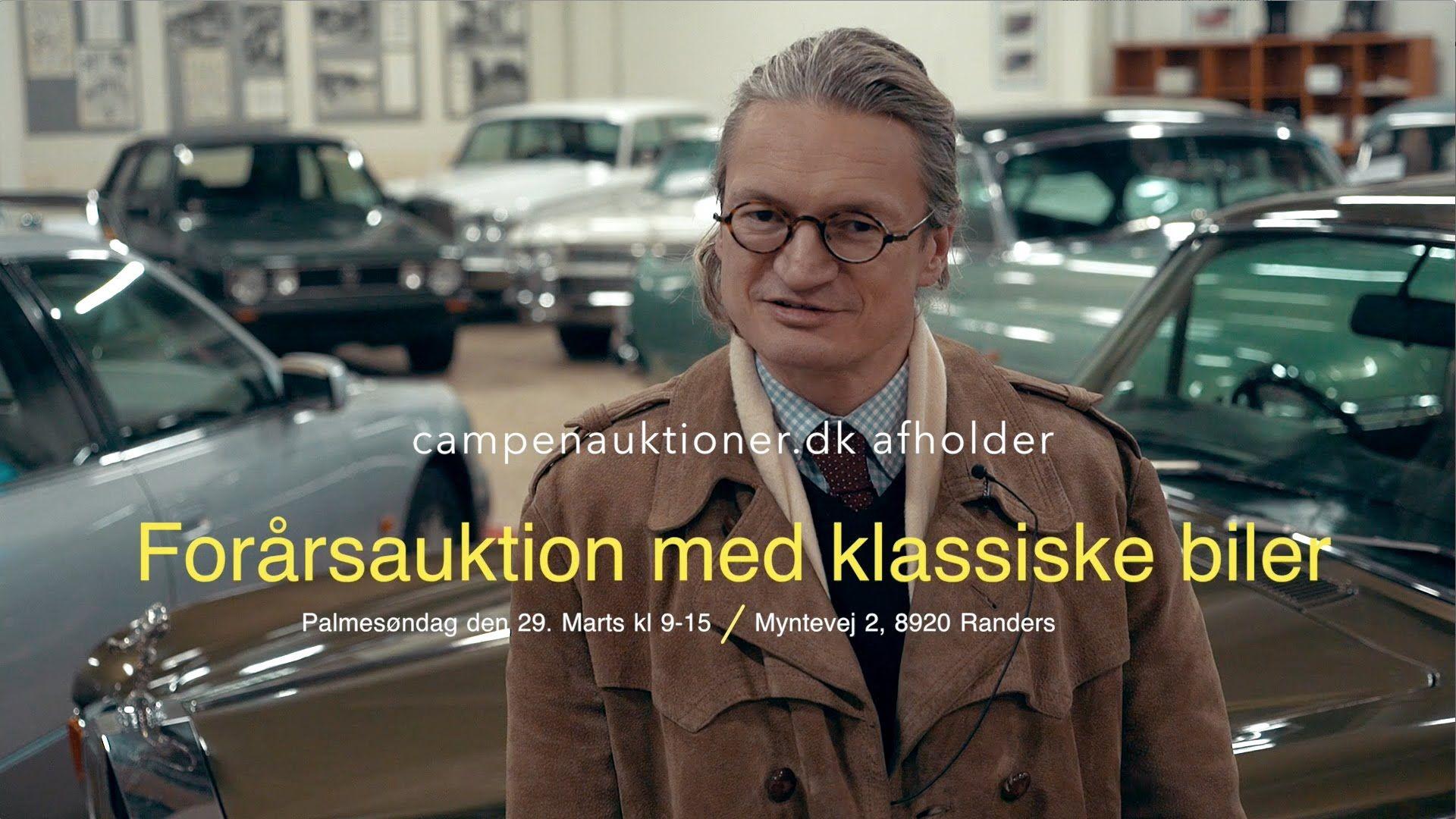 Campen Auktioner A/S - Teaser for bilsamling