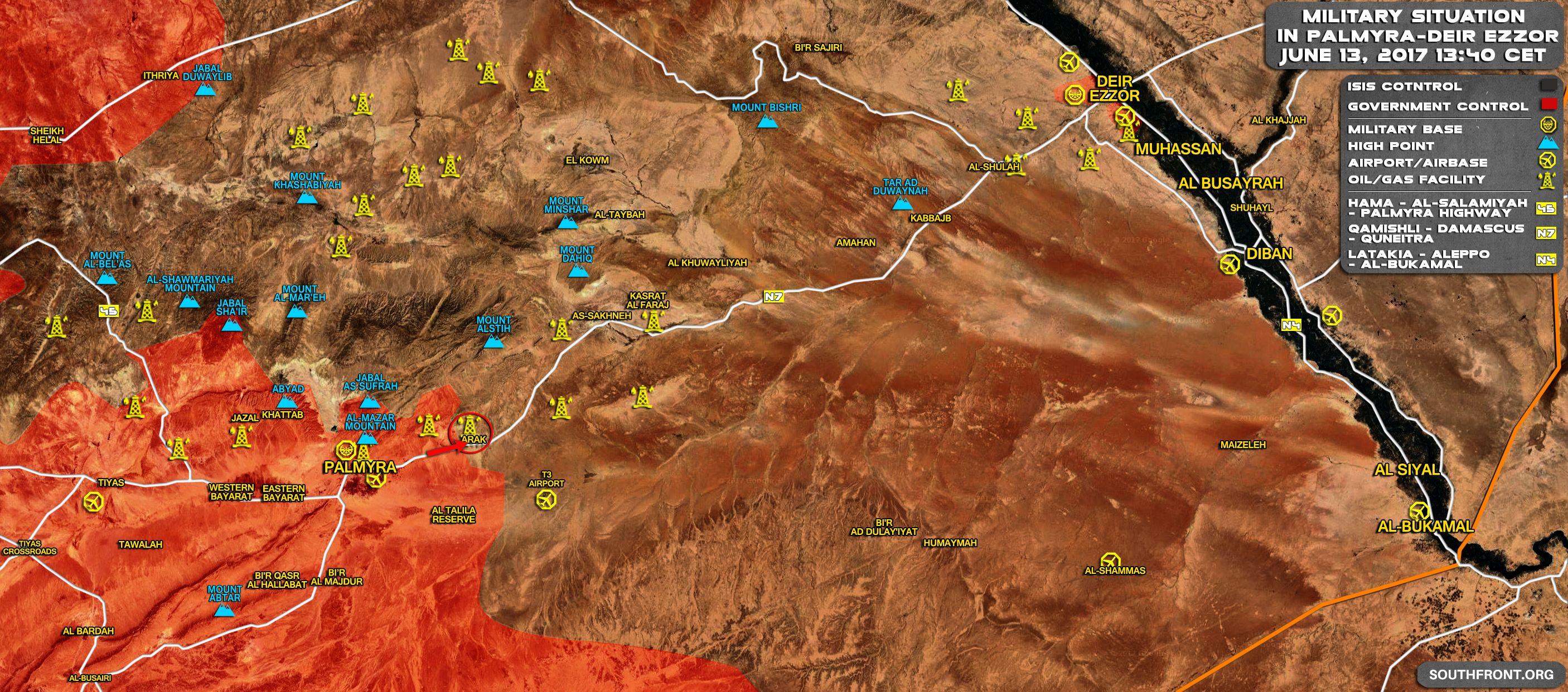 Gli Arcani Supremi (Vox clamantis in deserto - Gothian): Situazione nella Siria centrale