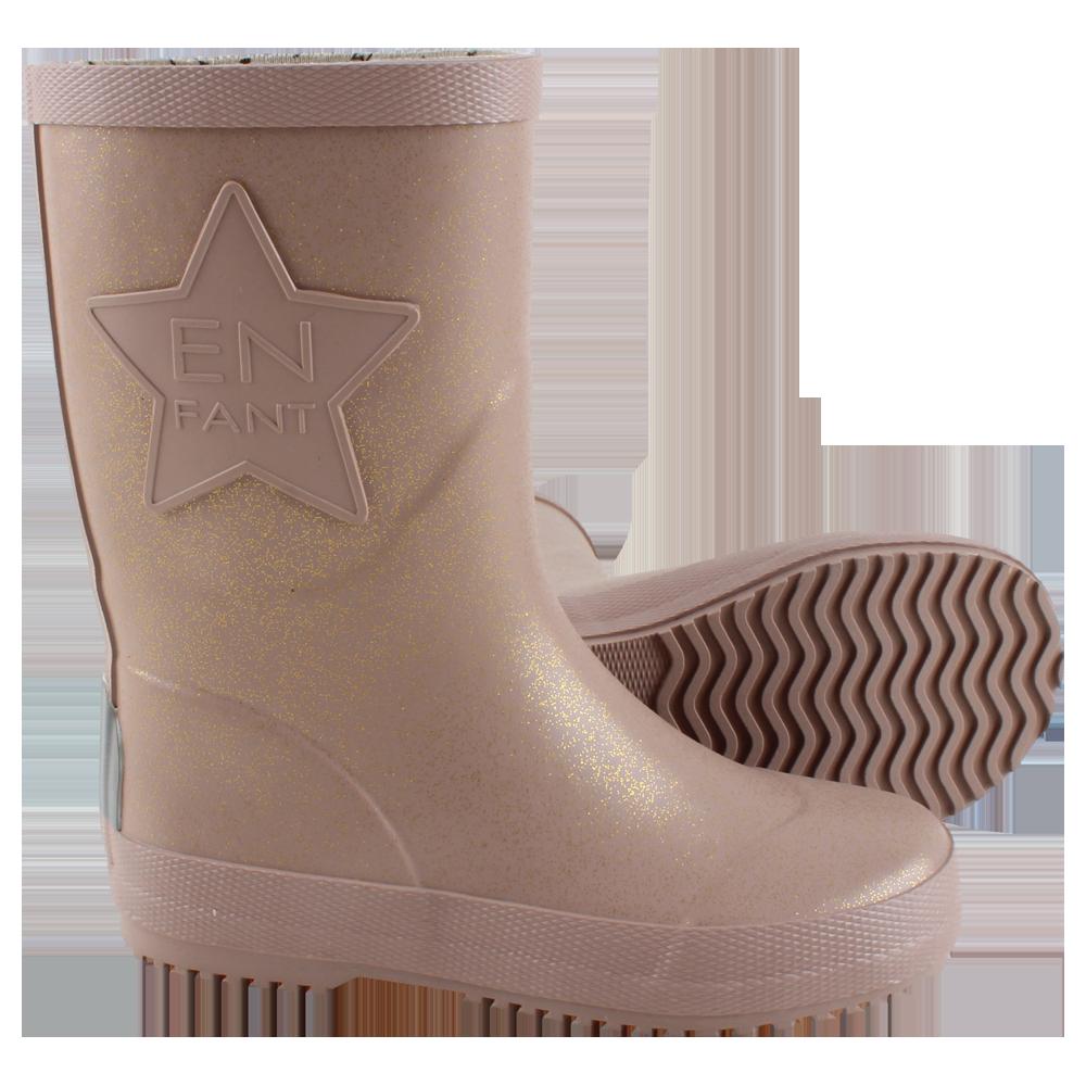 99fb56a555fcf EnFant POSEIDON Rain Boot Gumáky Rose Gold