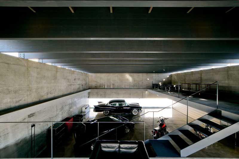 Contemporary Japanese Garage Design By Jun Igarashi