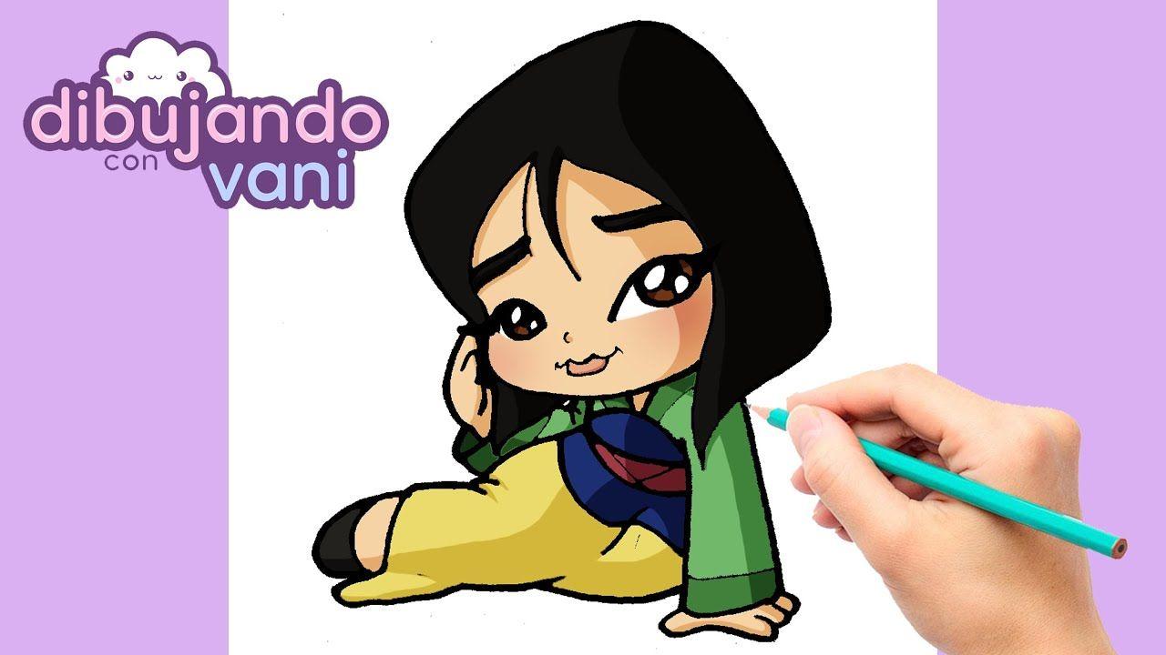 Como Dibujar A Mulan Paso A Paso Dibujos Para Dibujar Imagenes Kawai Dibujo Paso A Paso Como Dibujar Imagenes Kawaii