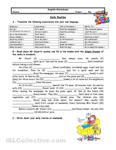 Free esl grammar worksheets for adults