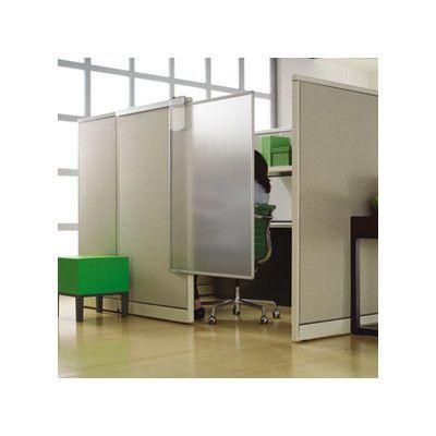 Quartet Workstation 1 Panel Room Divider 64 H X 38 W Cubicle Walls Cubicle Makeover Panel Room Divider