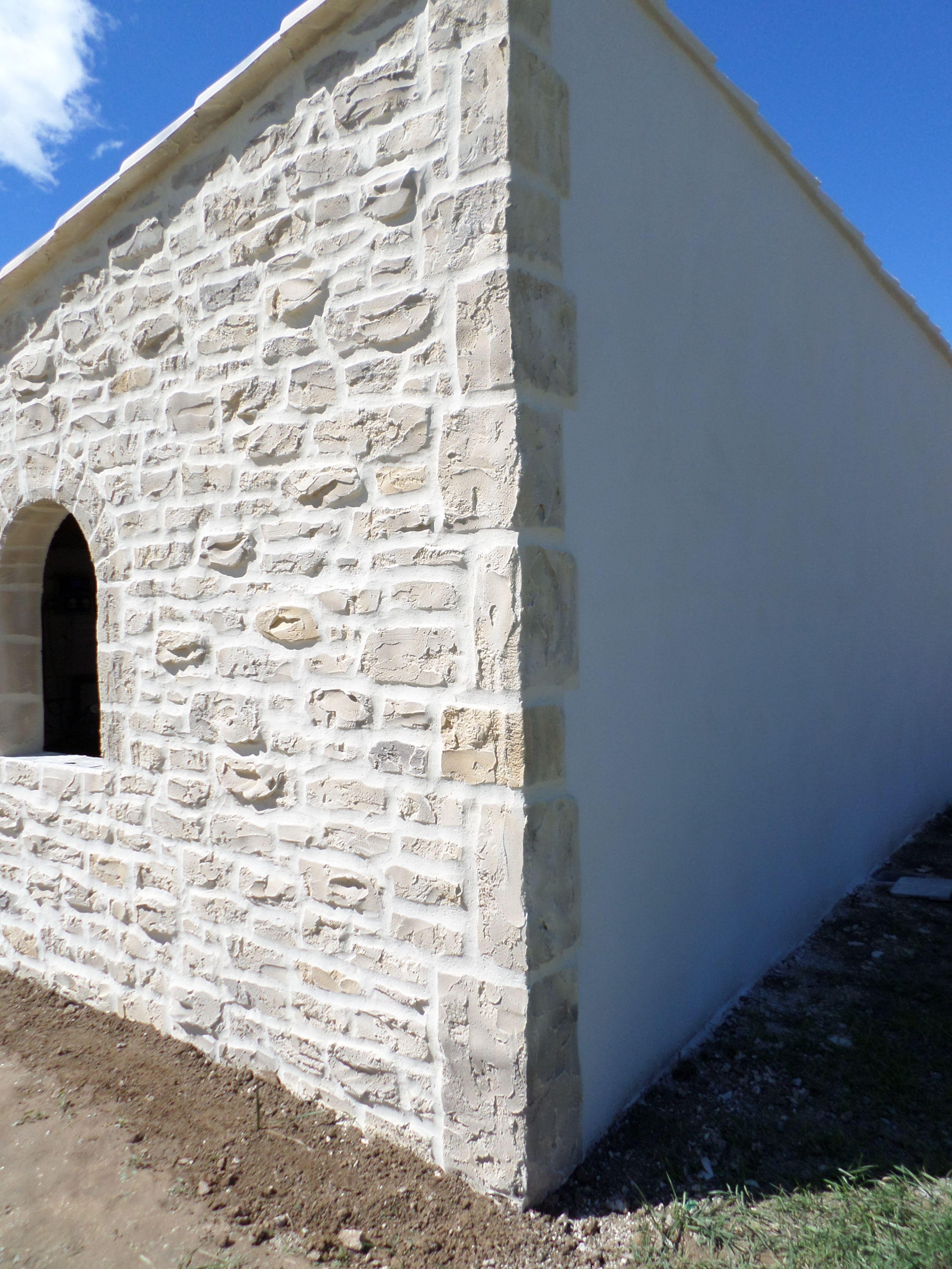 Enduit Blanc Mur Exterieur notre enduit décoratif avant (crépi blanc) et après (crépi