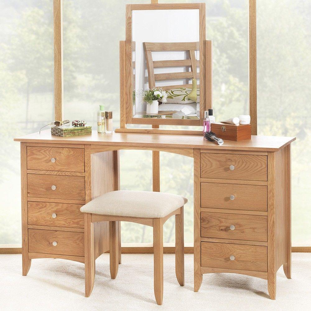 Edward Hopper Oak Dressing table set | Furniture | Pinterest ...