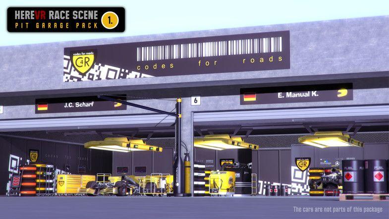Pit Garage Pack 01 Herevr Race Scene Sponsored Sponsored
