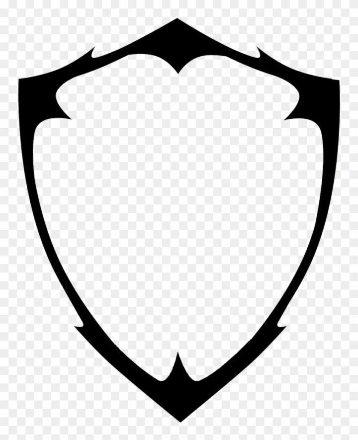 Blank Shield Logo Vector Png Image Shield Png Logo Hewan Gambar Serigala Gambar Tulisan Tangan