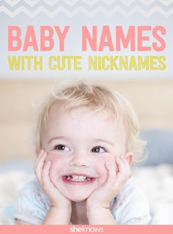 2915c3062 Baby-naming hack  Pick the nickname first