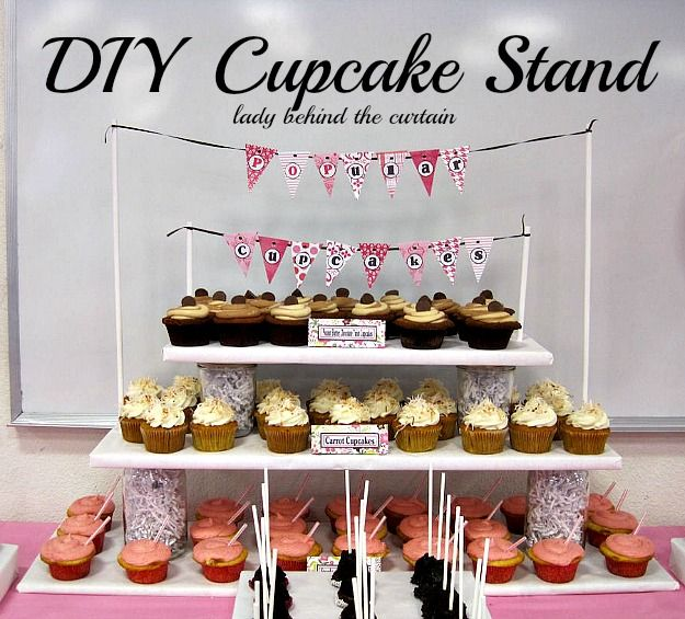 Wedding Cupcake Stand Ideas: 5 DIY Cupcake Stands