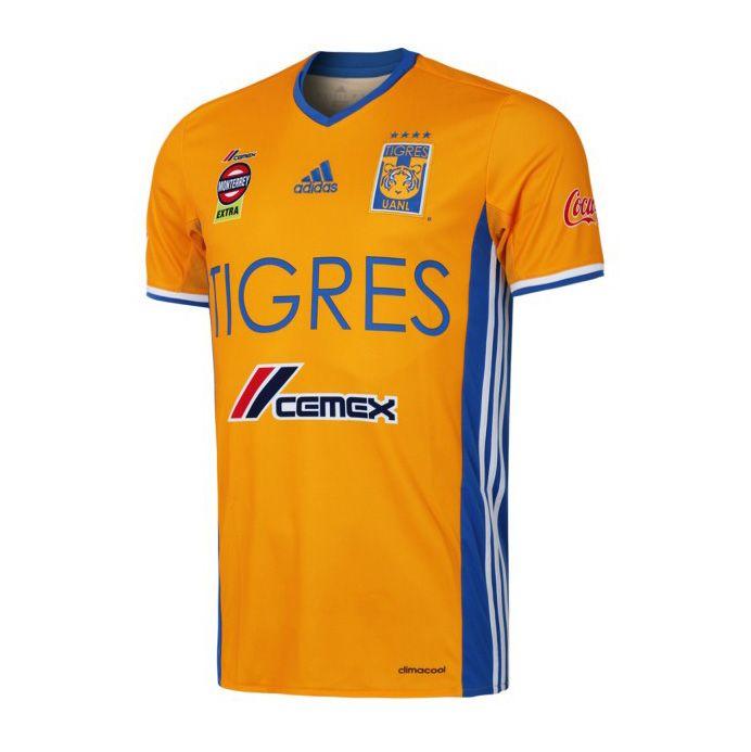 562a72fd177ae CA Tigres de la UANL (Mexico) - 2016 2017 Adidas Home Shirt Camisas