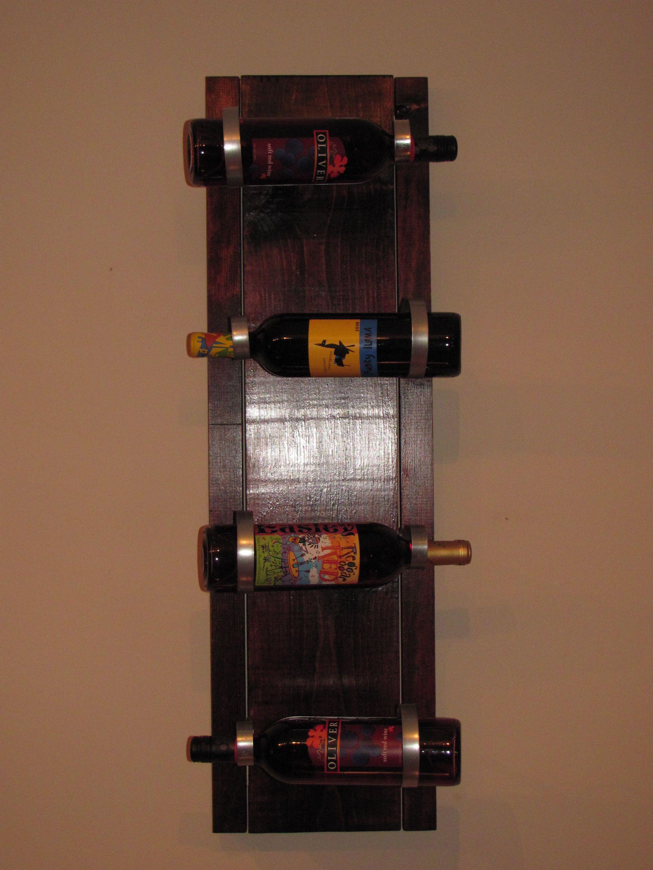 Homemade Wine Rack....Lowe\'s Creative Ideas   Wine racks   Pinterest