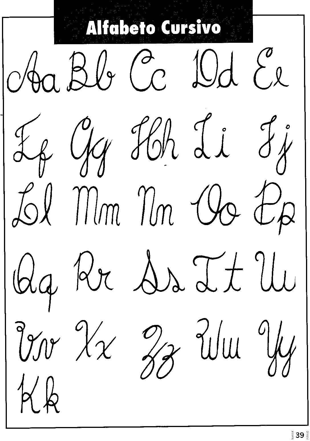 Moldes De Letras Cursivas Fotos E Modelos Bem Lindona Lettering Tutorial Letras Bonitas Ideias De Letras