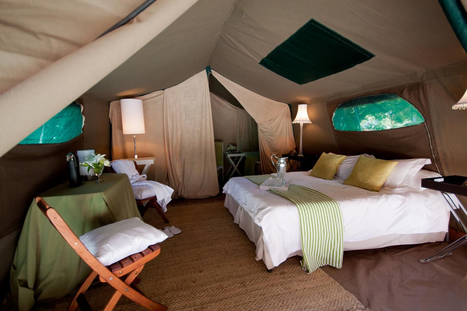 Tented camp, Tanzania