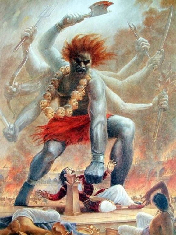 Image result for frustration of daksha sacrifice