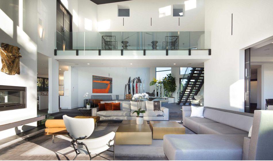 Movie Maker S Minimalist Mansion Latest Living Room Designs