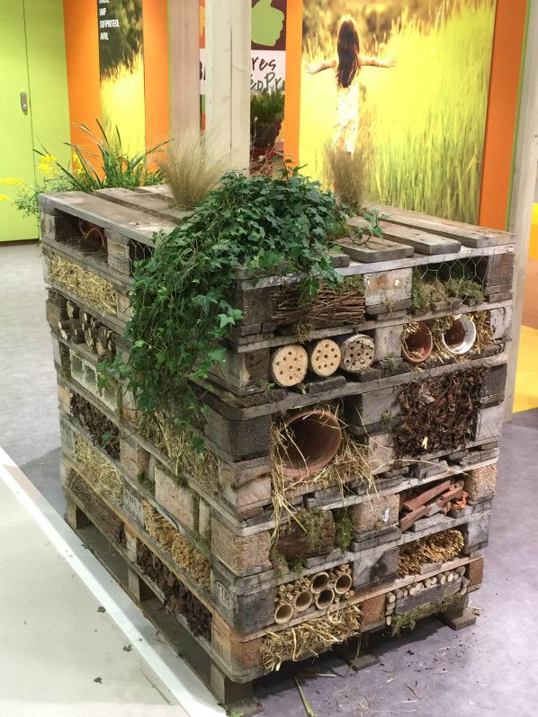 Tour Abri A Insectes En Palettes Salon International De L