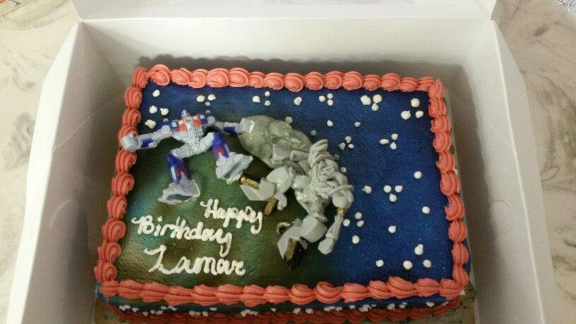 Transformers Publix cakes