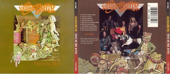 Aerosmith Toys In The Attic Music Album Covers Toys In The Attic Album Covers